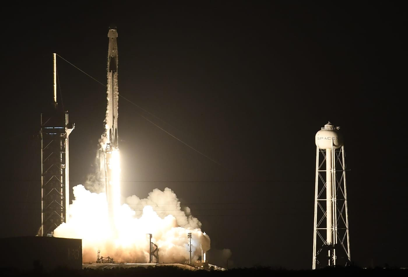 Elon Musk's SpaceX launches Crew-1 mission, beginning a new era of NASA human spaceflight