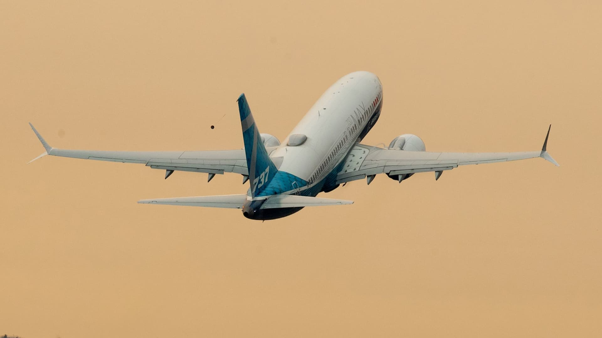 FAA chief Steve Dickson flies a Boeing 737 MAX, from Boeing Field on September 30, 2020 in Seattle, Washington.