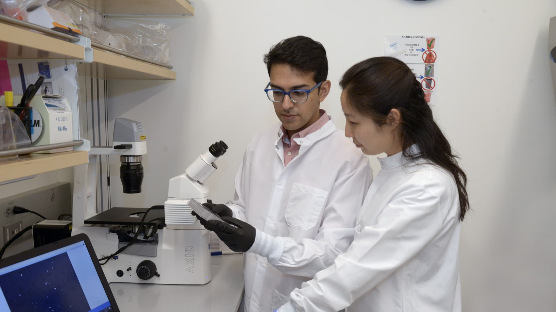 Dr. Neville Sanjana and his team at the New York Genome Center used CRISPR to identify the genes that can protect human cells against Covid-19.