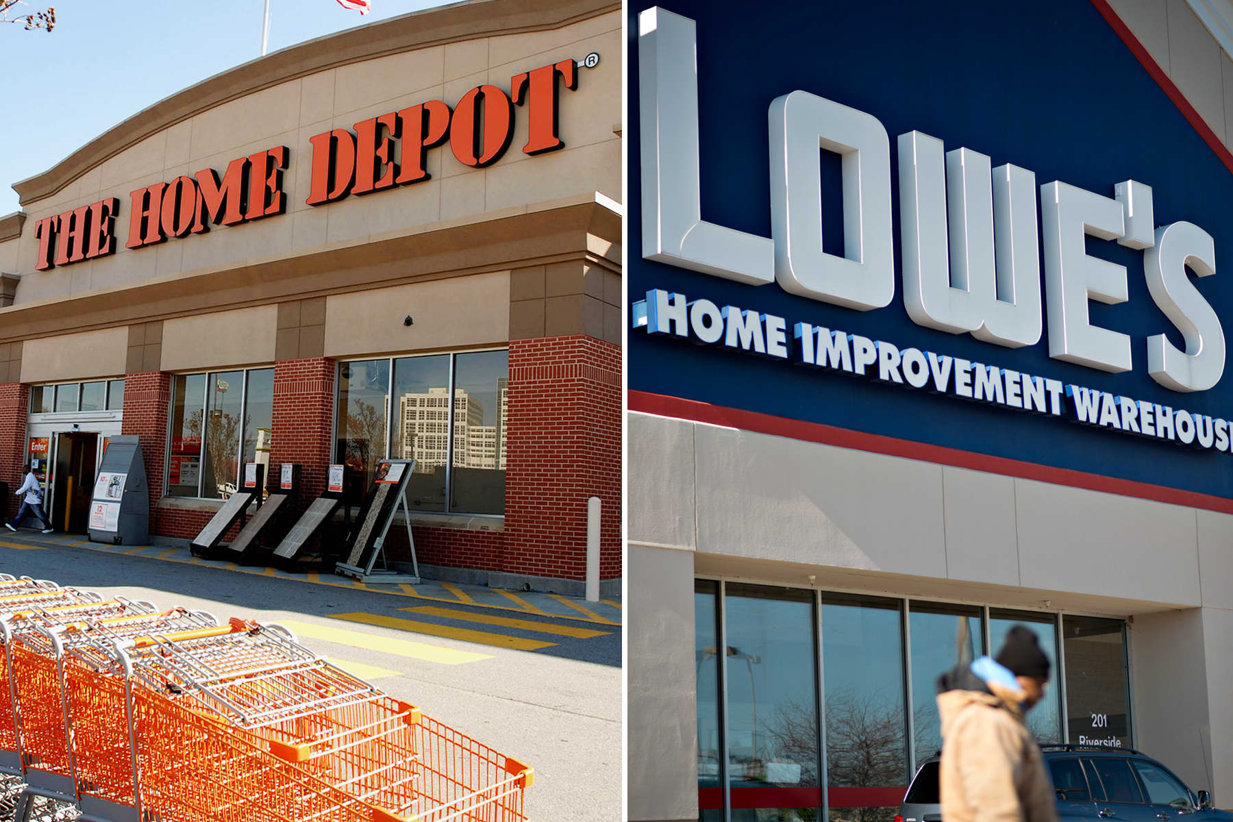 Pandemic-induced 'nesting' fuels Home Depot and Lowe's sales-- Why it's likely to continue thumbnail