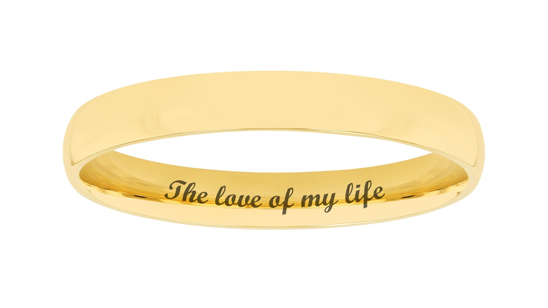 During the pandemic, Signet CEO Gina Drosos said customers have sought out more personalized gifts at its stores, including Zales. Some have gotten rings or other jewelry engraved with messages about how the pandemic has strengthened their love.