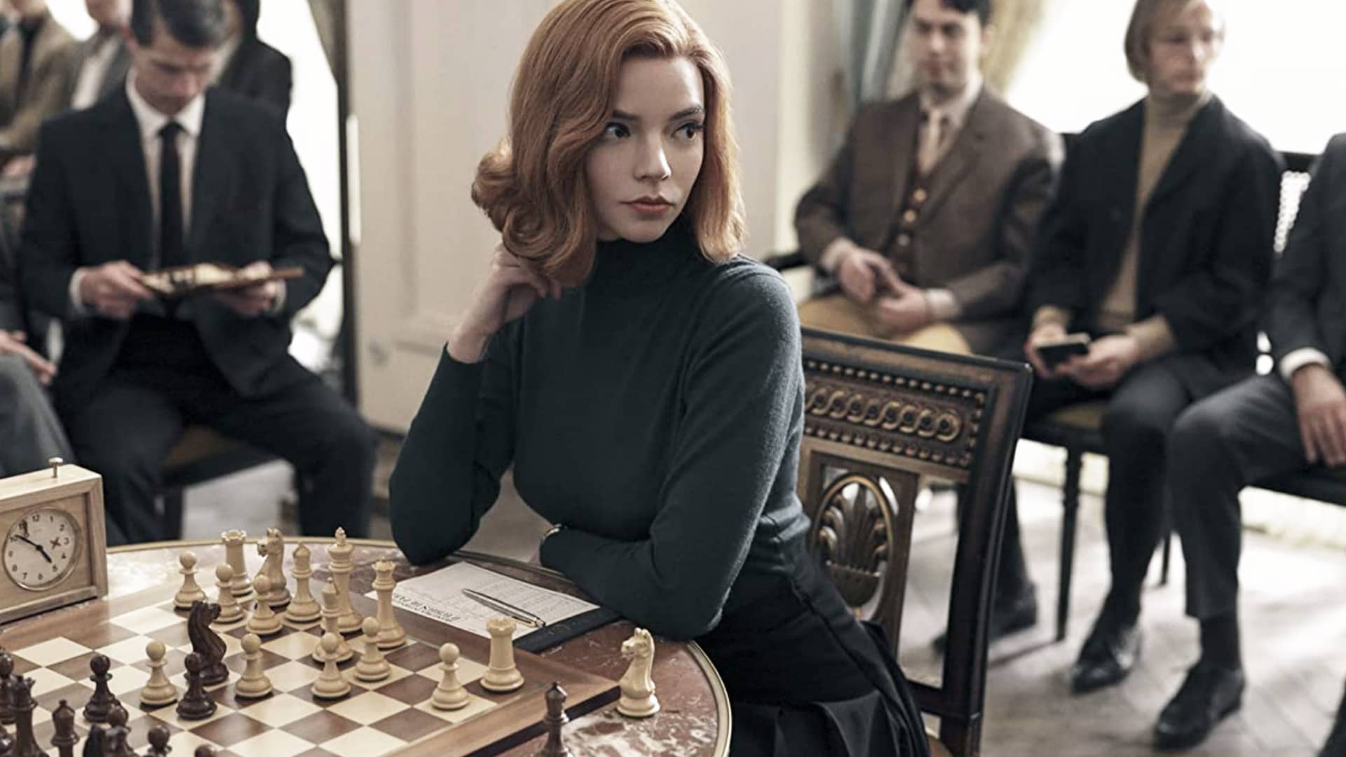 Anya Taylor-Joy in The Queen's Gambit