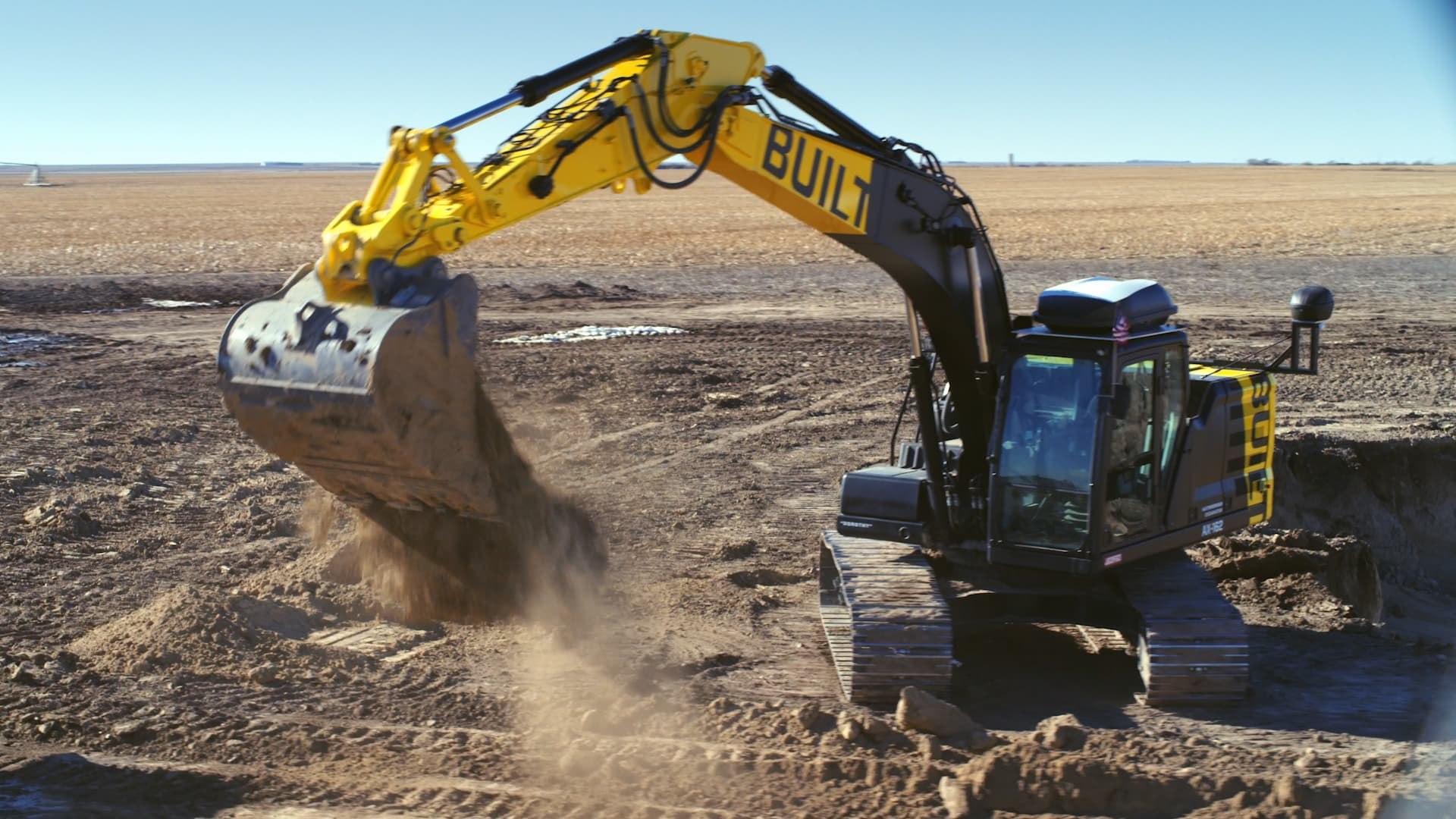 Built Robotics puts autonomous machines to work on construction sites.