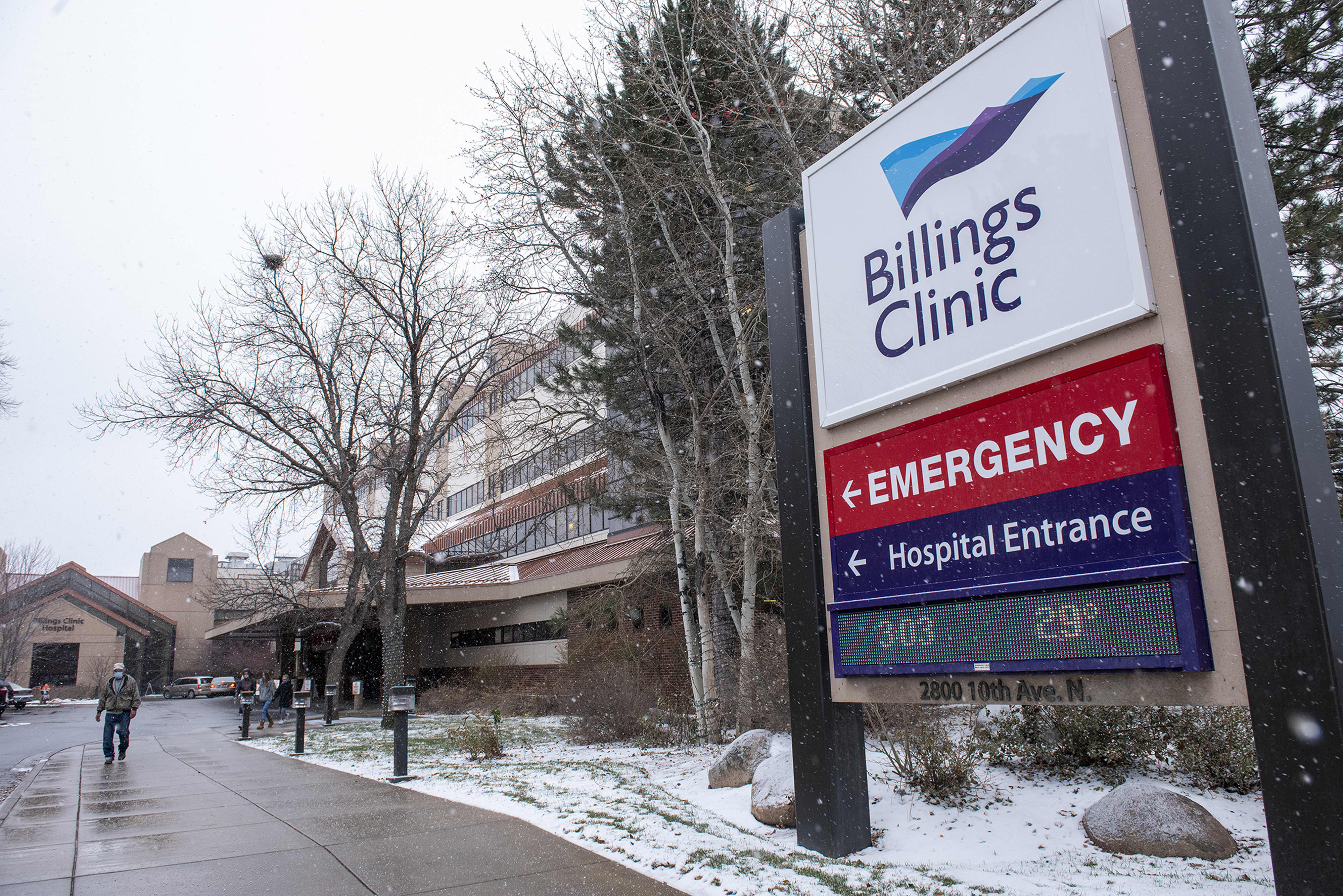 CEO of Montana hospital, which lost a doctor to Covid, says he expects Thanksgiving-related surge