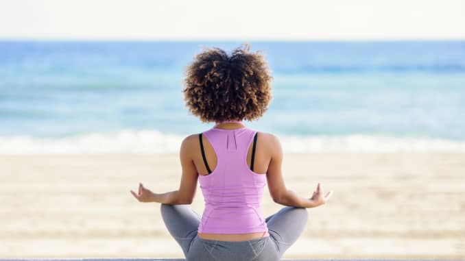 meditation helps with financial stress