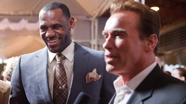 cnbc.com - Jabari Young - LeBron James, Arnold Schwarzenegger's sports nutrition company sells to fitness platform Openfit