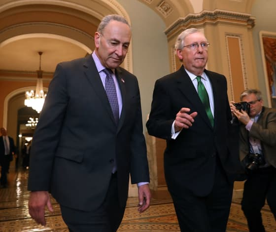 McConnell, Schumer far apart on unemployment benefits, stimulus proposals
