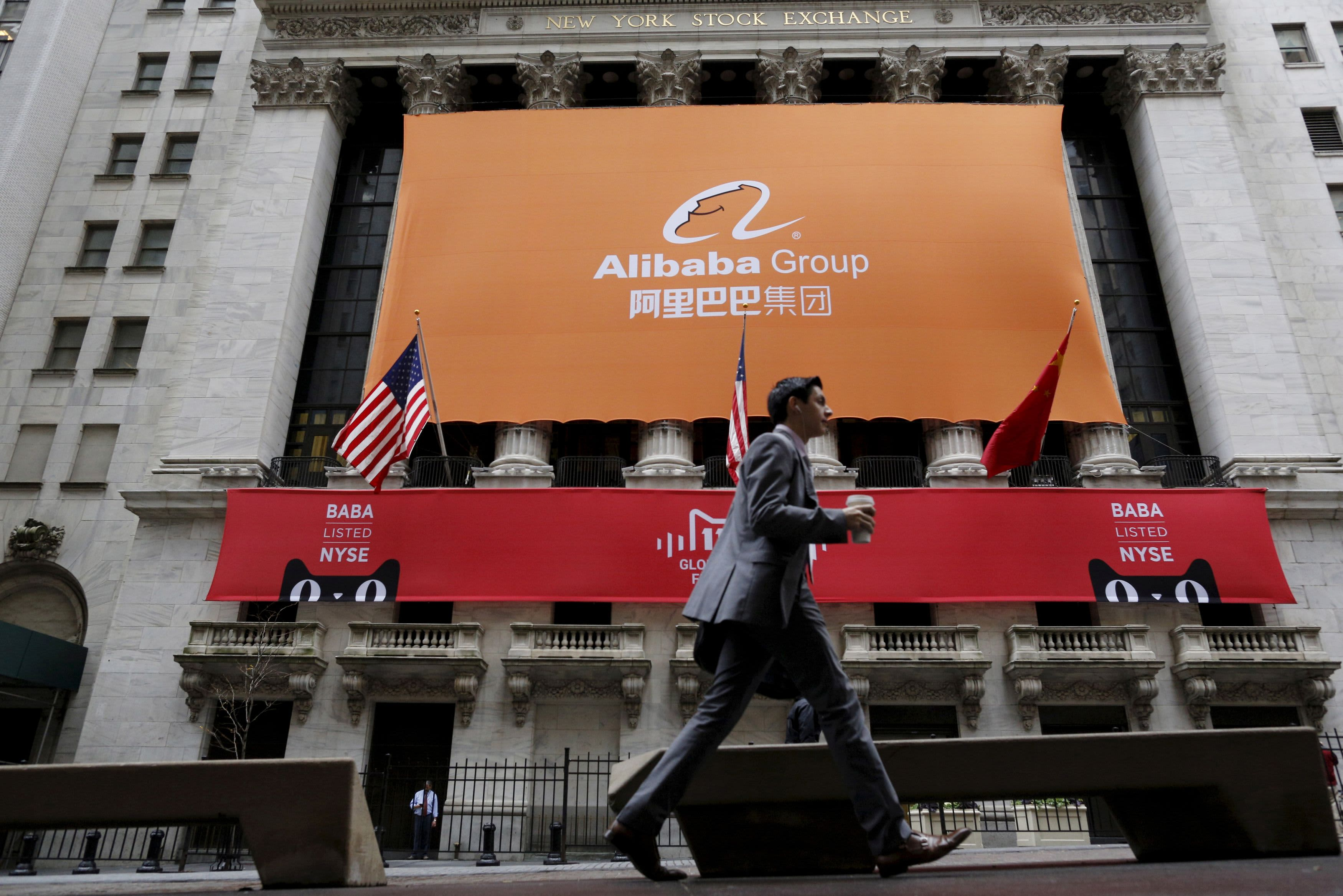 Stocks making the biggest moves premarket: Alibaba AT&T AstraZeneca DoorDash others – CNBC