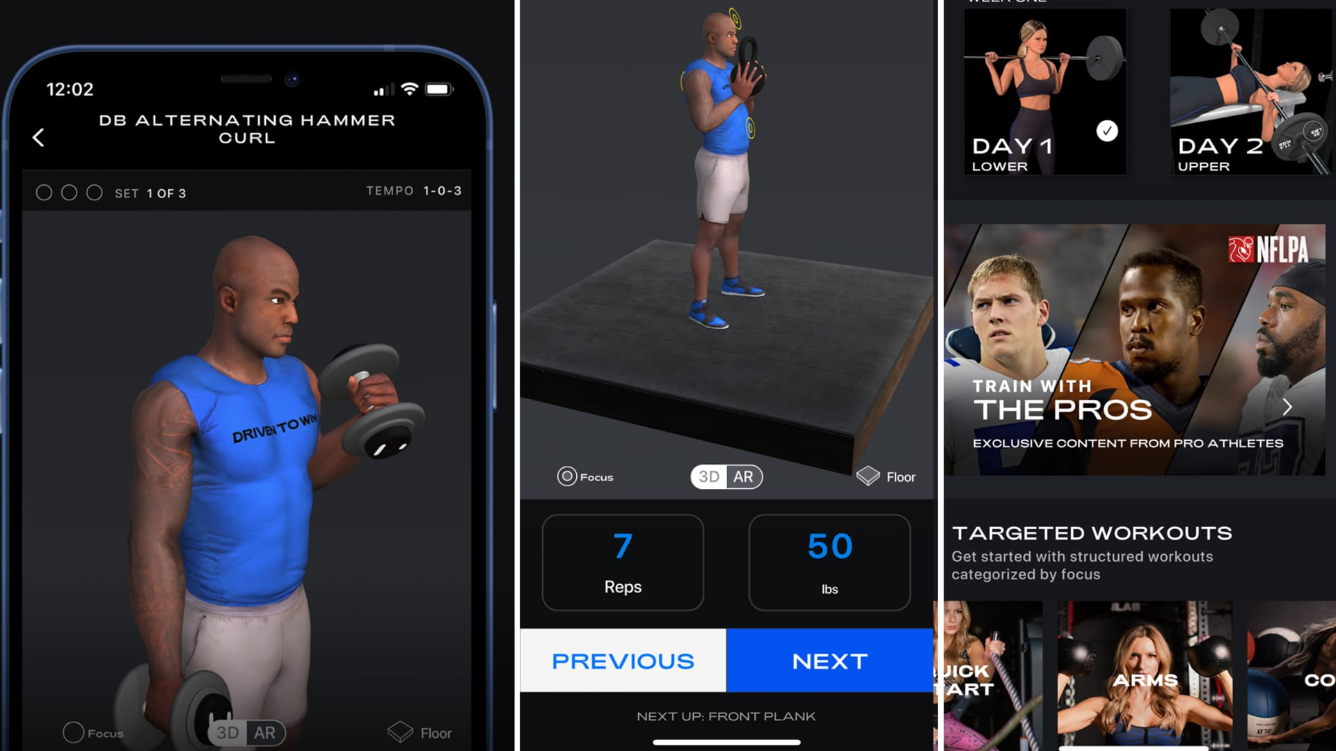 Former NFL linebacker DeMarcus Ware announcing the launch of Driven To Win (D2W), a new fitness app available for download on the App Store.