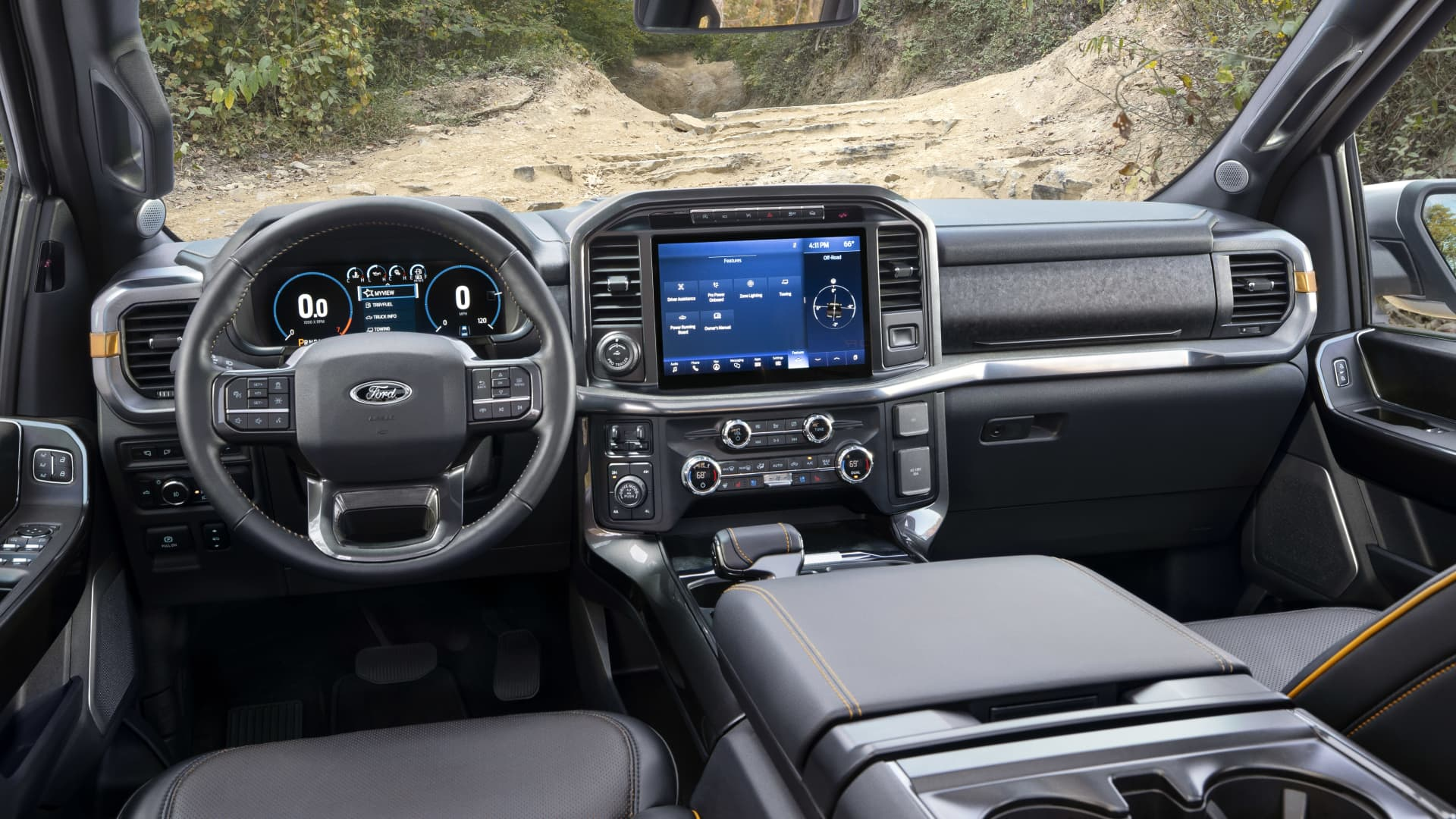 2021 Ford F-150 Tremor interior