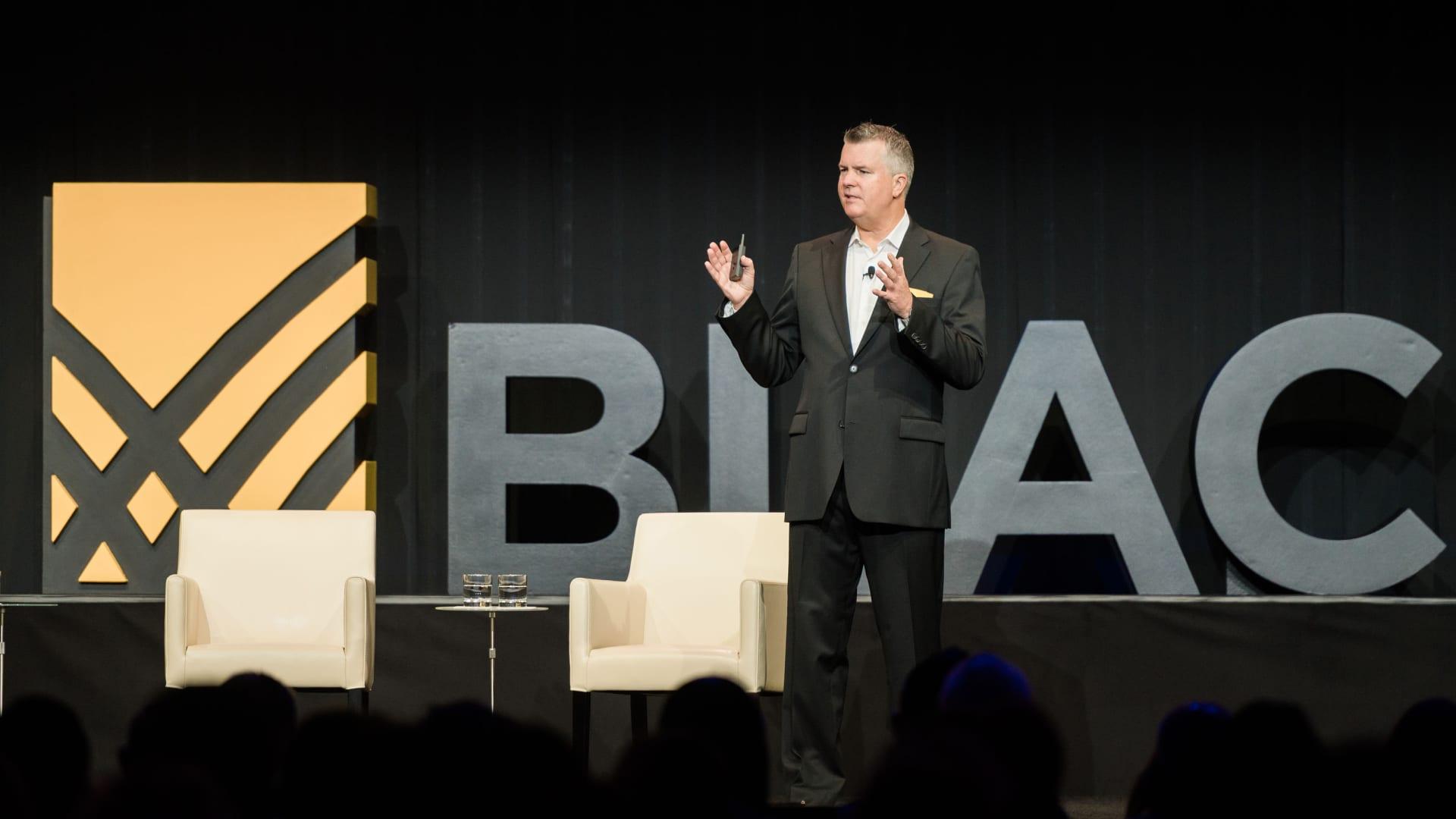 Blackline incoming CEO Marc Huffman