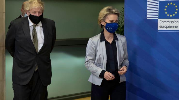 UK-EU leaders set Sunday deadline for Brexit talks, after meeting fails to break the deadlock