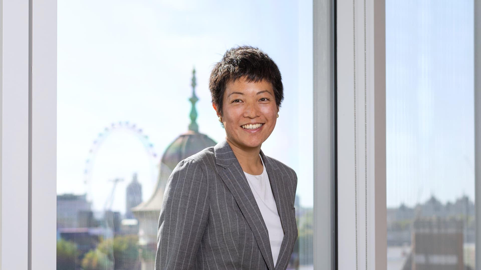 Jennifer Wu, JPMorgan's global head of sustainable investing.