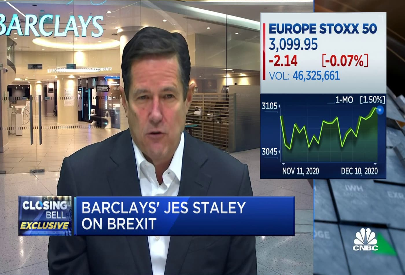 Watch CNBC's full interview with Barclays CEO Jes Staley