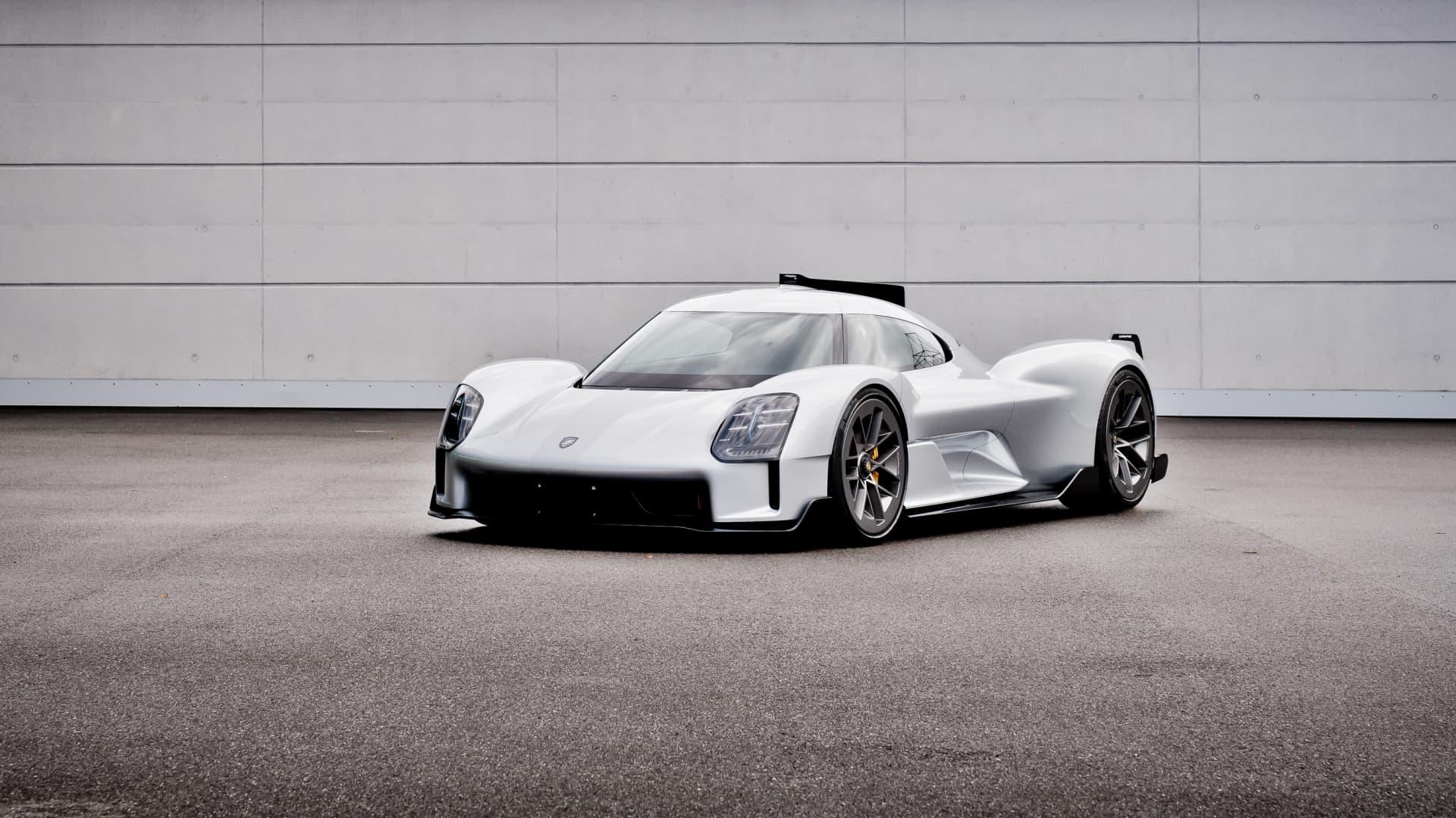 Porsche's 919 Street concept car.