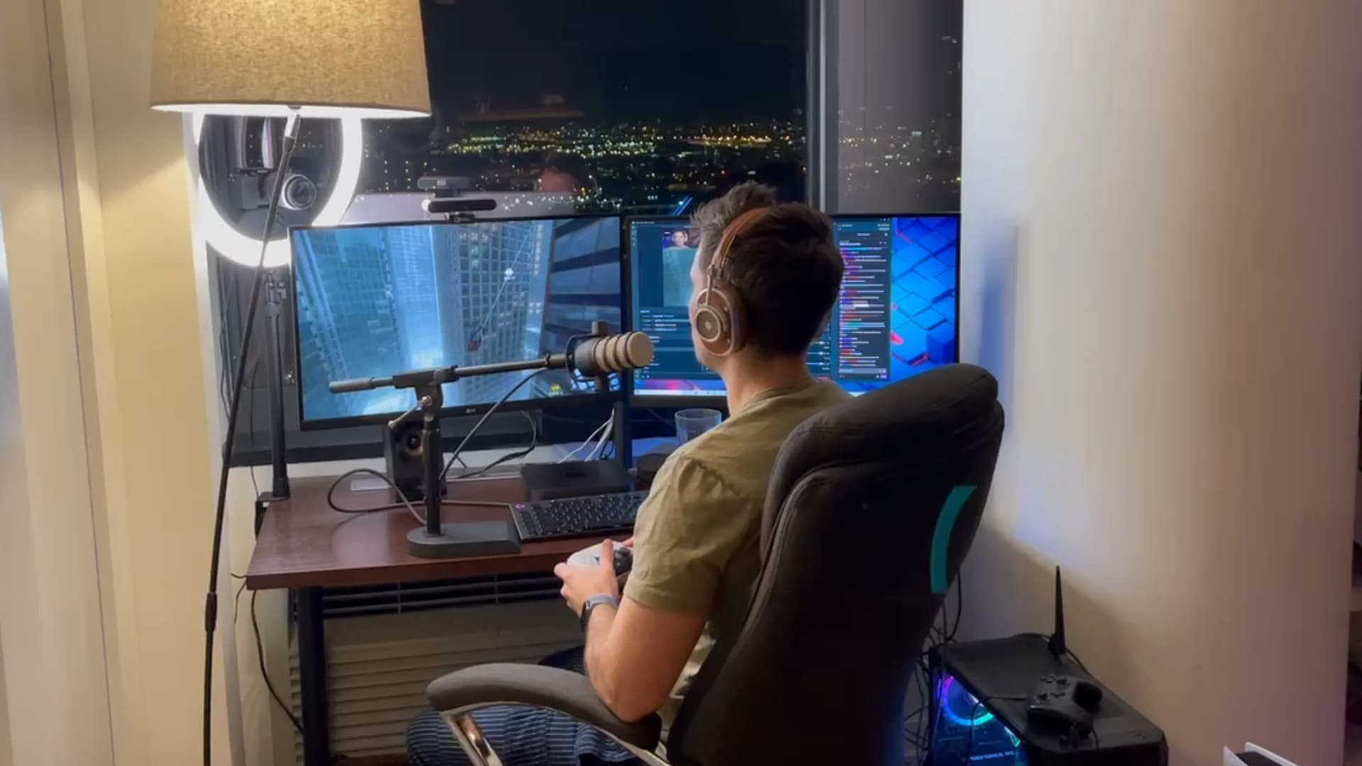 Gamers pay $5 a month to watch Matt Doyle play video games on streaming platform Twitch.