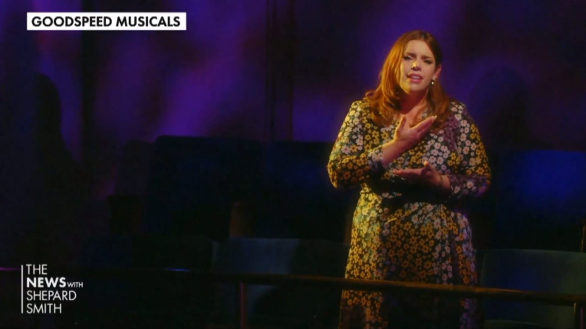 Actress Alysha Umphress sings for Goodspeed Musicals virtual gala.