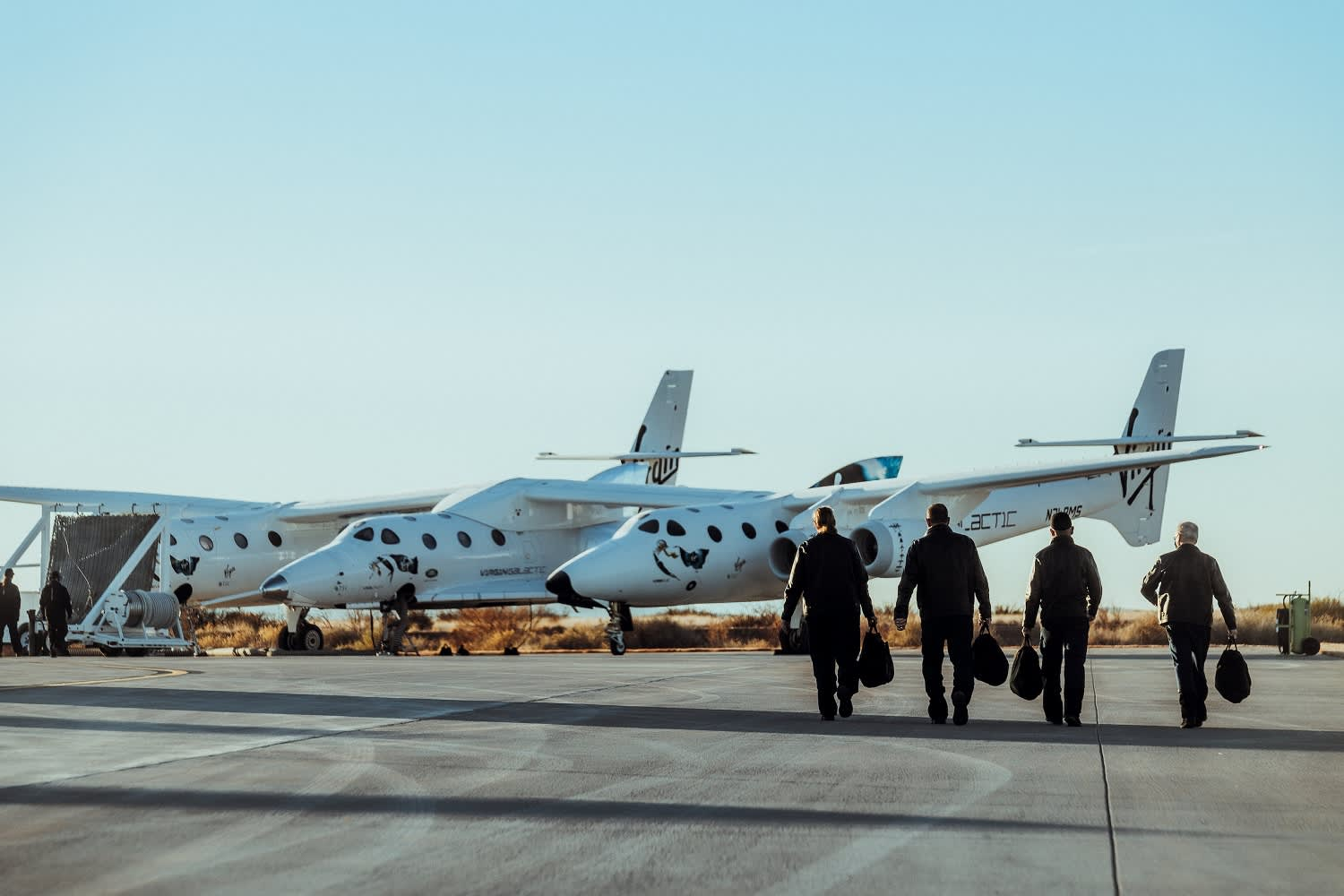 Virgin Galactic shares climb as FAA signifies subsequent spaceflight check set for Saturday