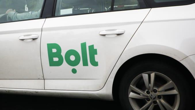 Một người lái xe Bolt ở Krakow, Ba Lan.