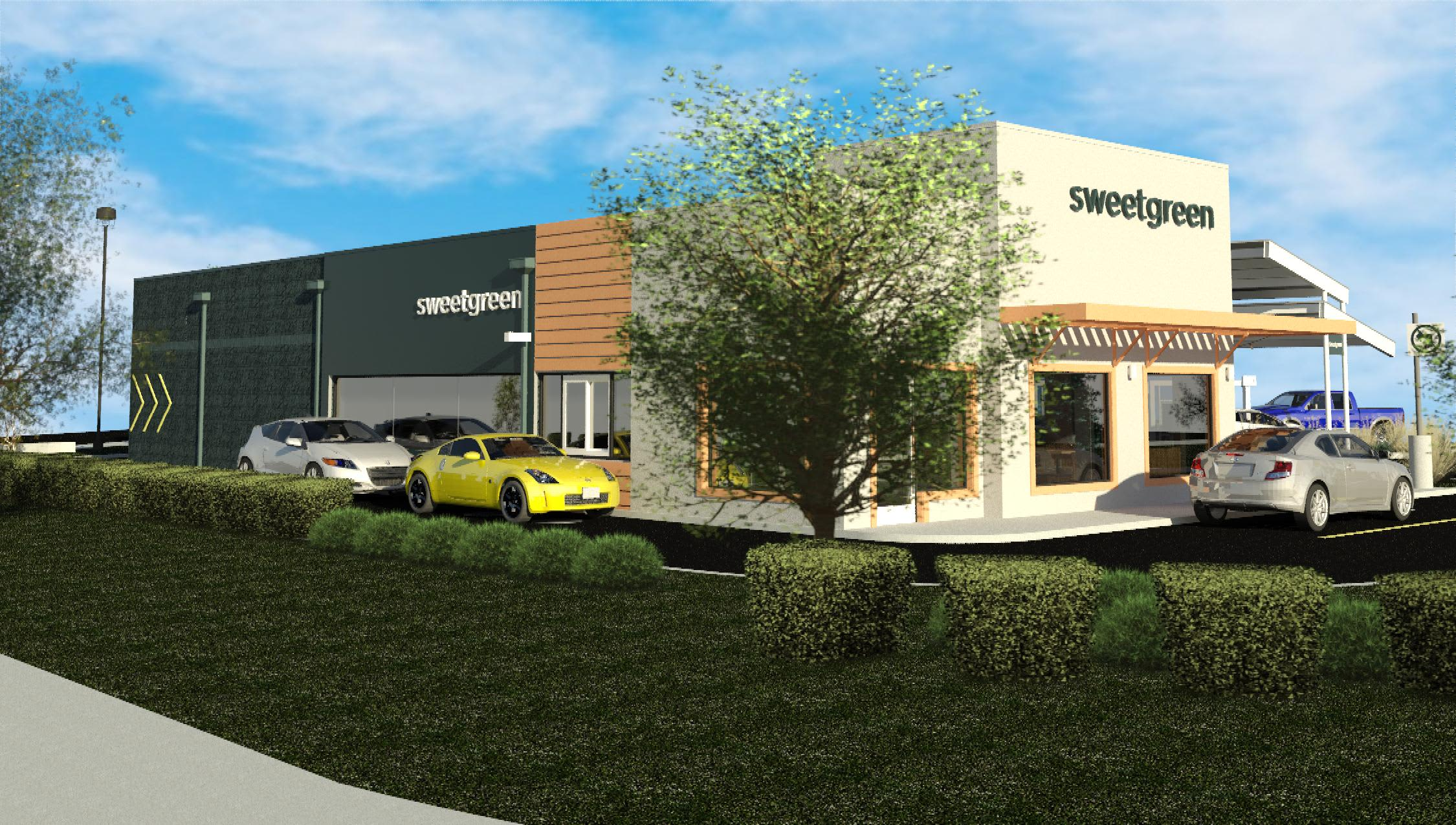 Sweetgreen will pilot a drive-in restaurant as part of suburban push