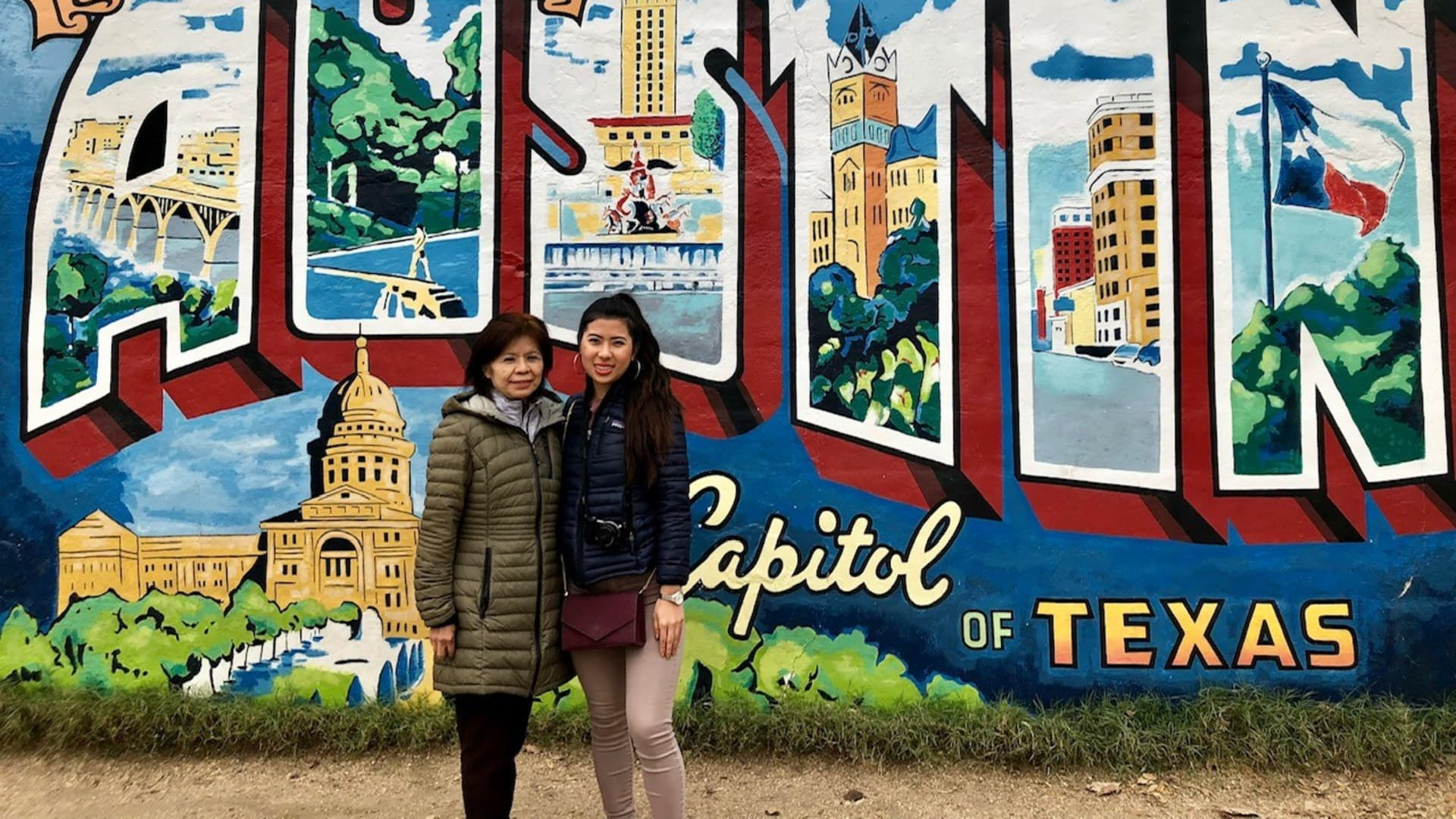 Lani Huang and her mom take a mother-daughter trip every year.