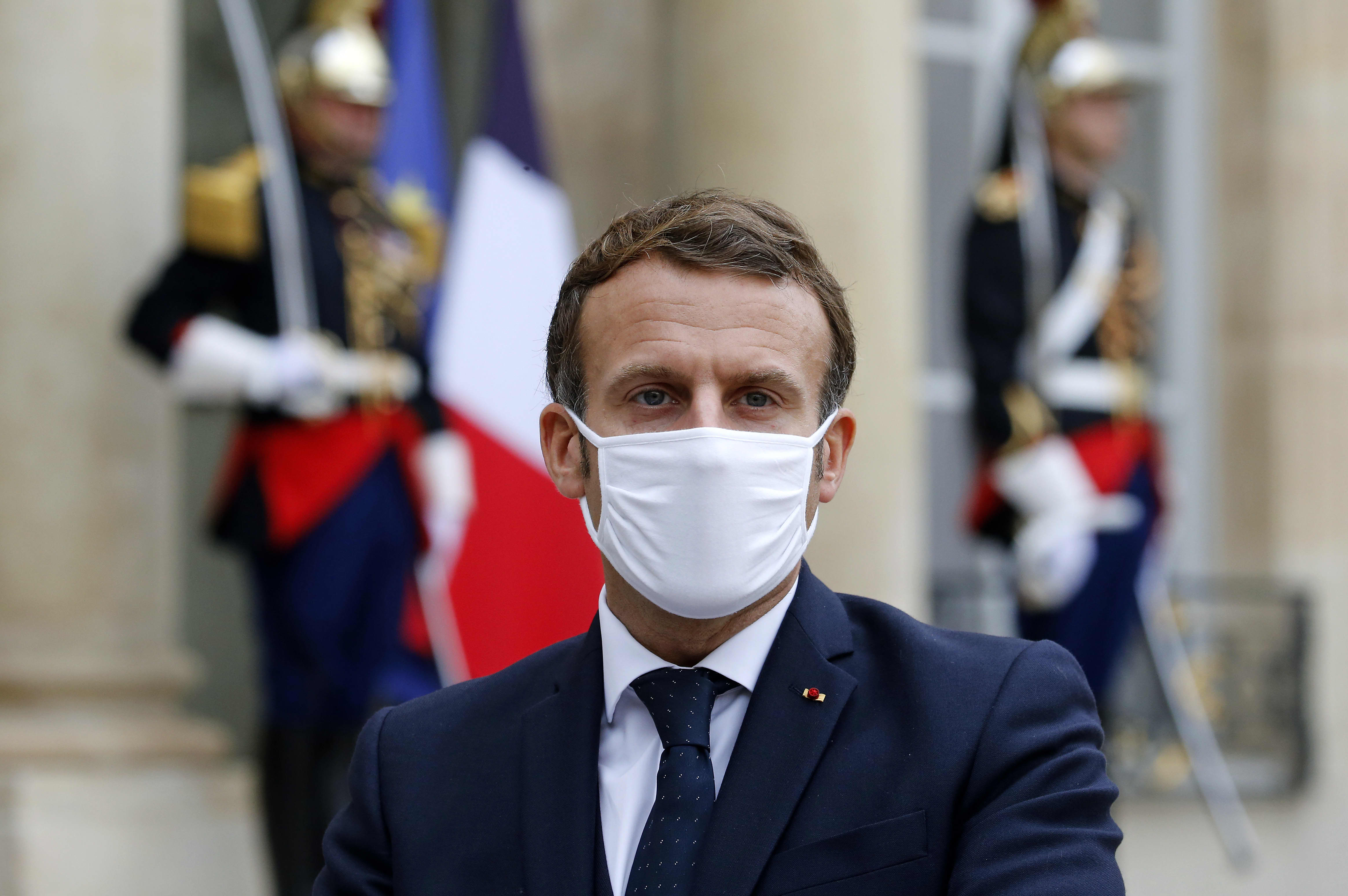 French President Emmanuel Macron Tests Positive For Covid