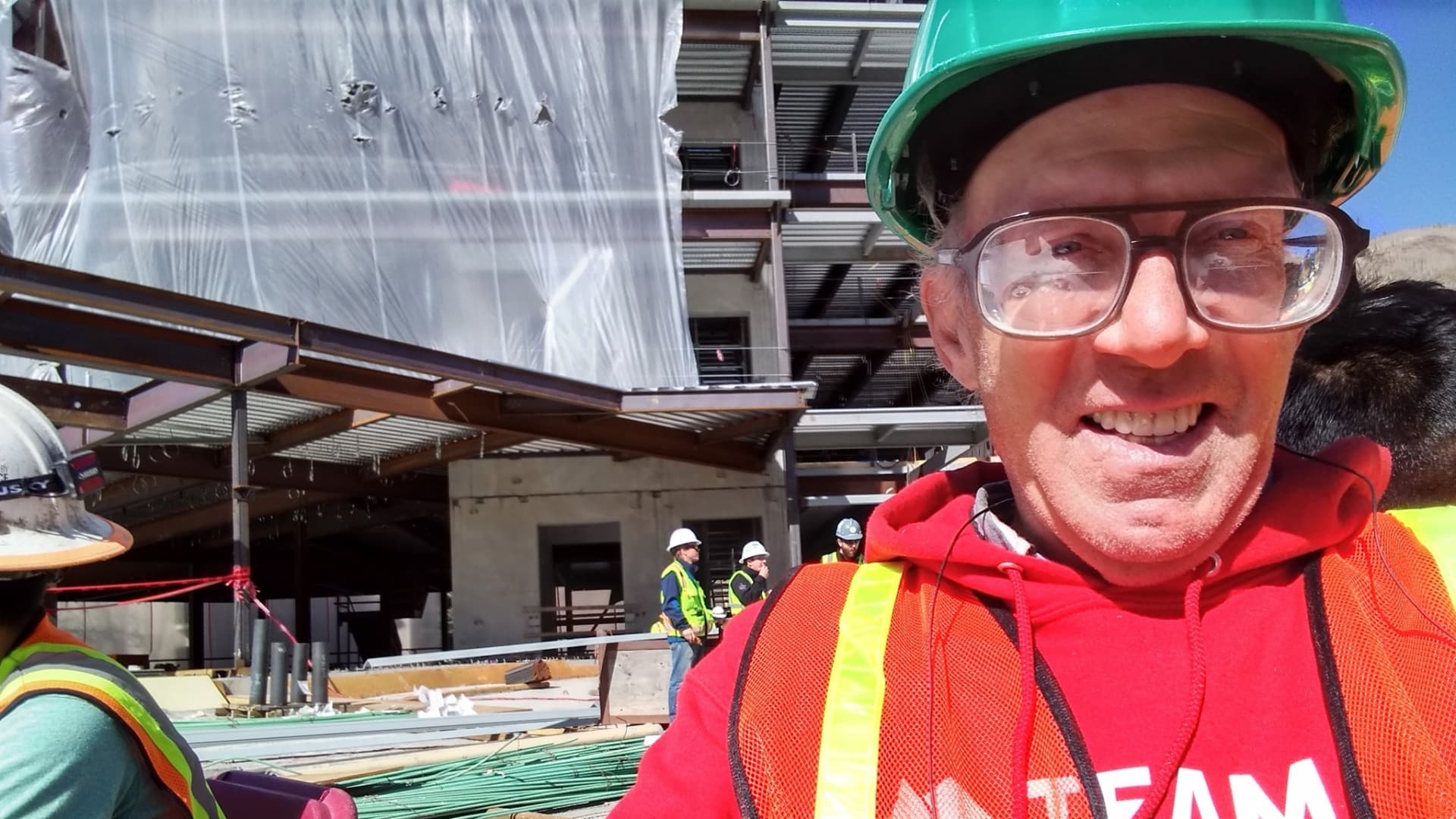Randy Chase, 57, does masonry work on construction crews. With unemployment benefits stalled since April and no savings left, he's been living in his pickup truck outside of Denver since September, using an electric heater to keep warm.