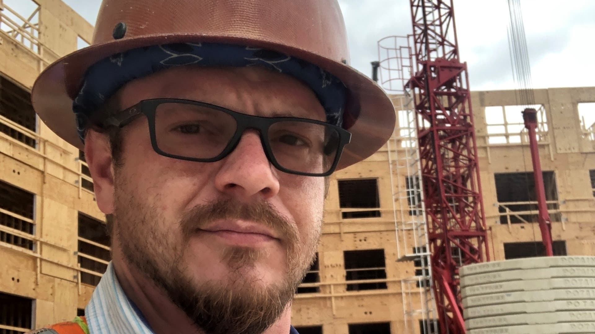Mike Carpenter, 35, said the unemployment system has led to financial ruin. Carpenter, who'd worked for a luxury apartment builder, hasn't received months of jobless benefits he believes he's owed from Pennsylvania.