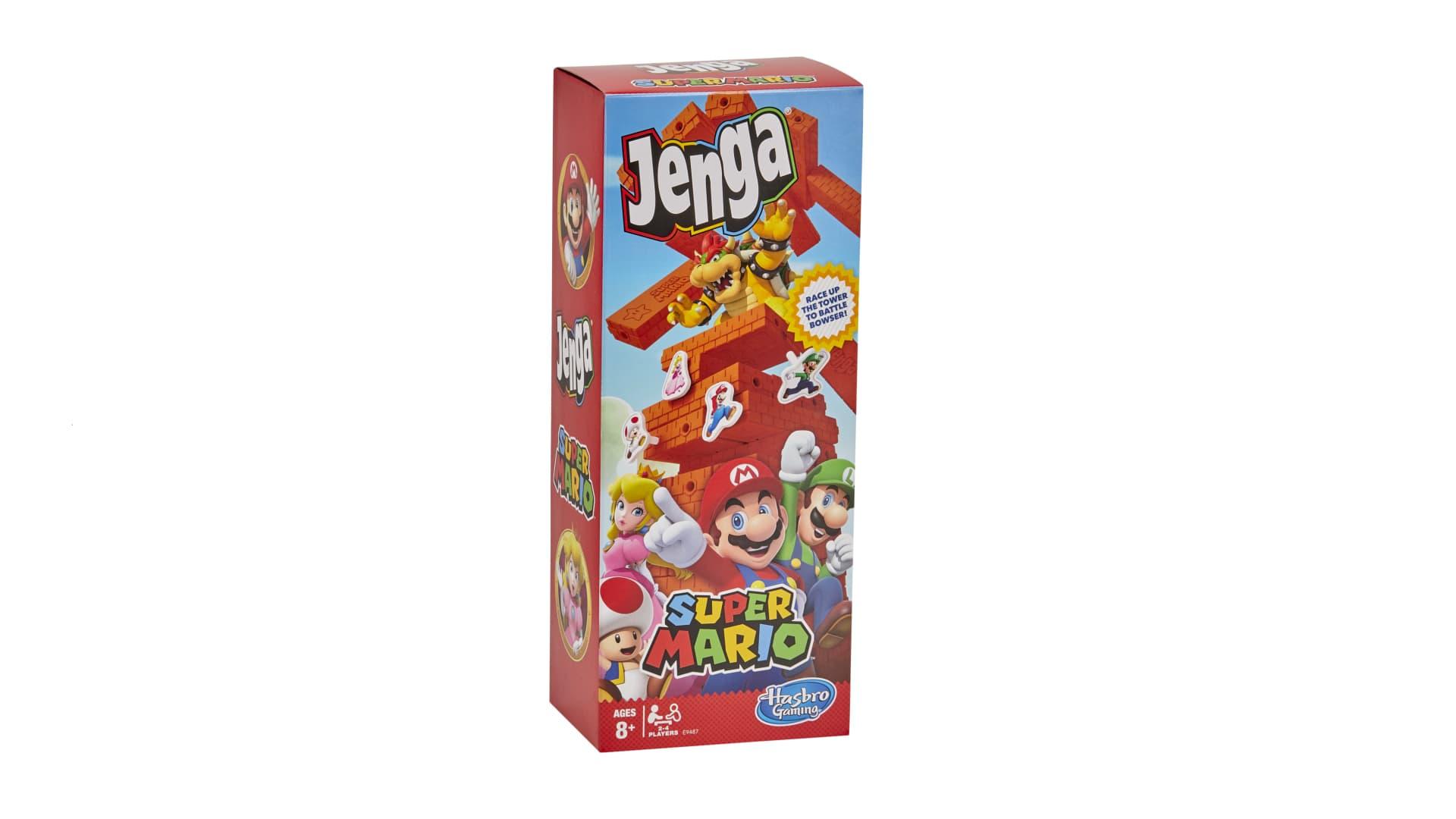 Jenga Super Mario from Hasbro