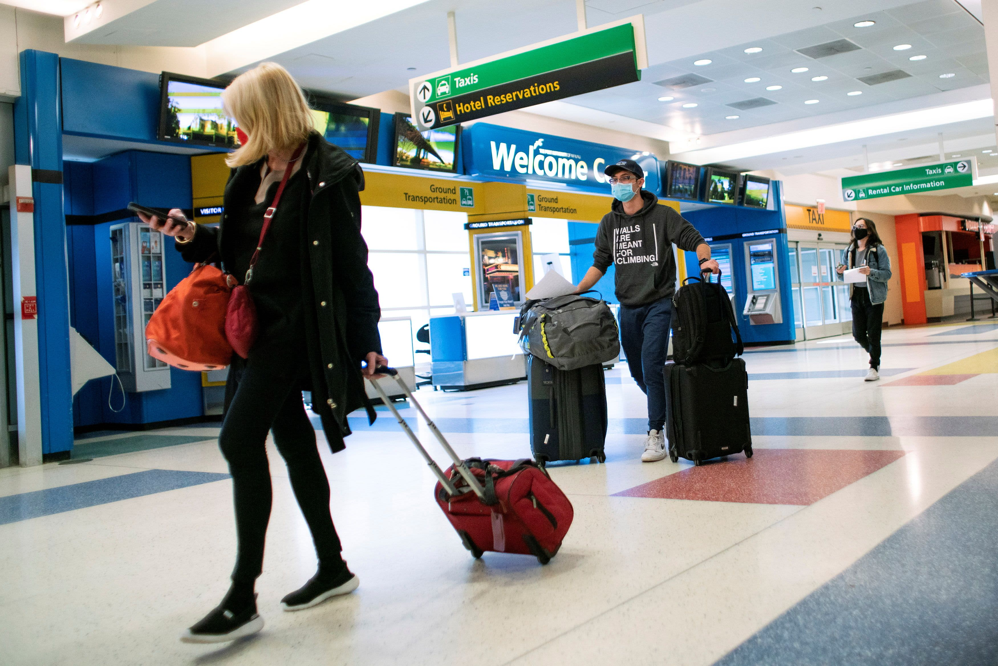 U.S. will require negative Covid tests for inbound international air travel – CNBC