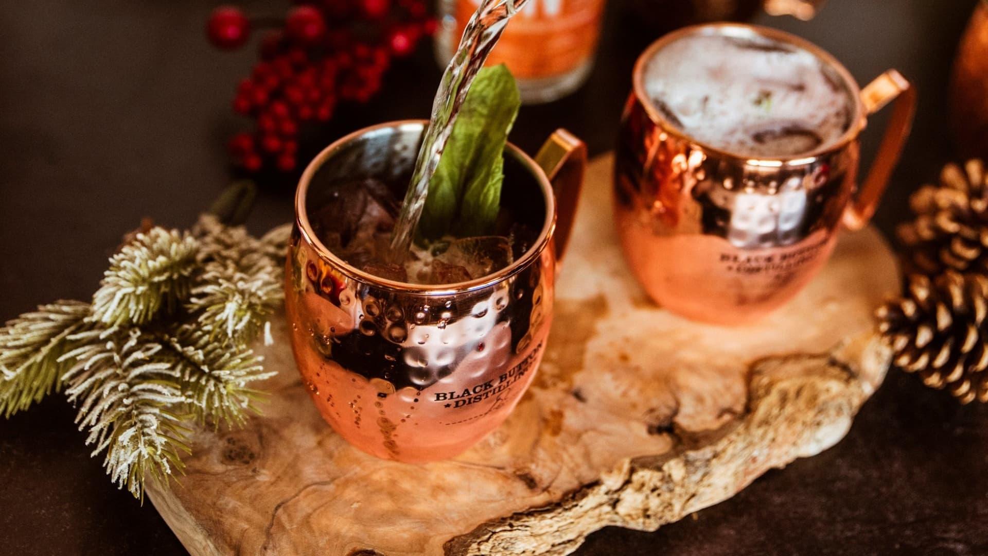 Mistletoe Mule.