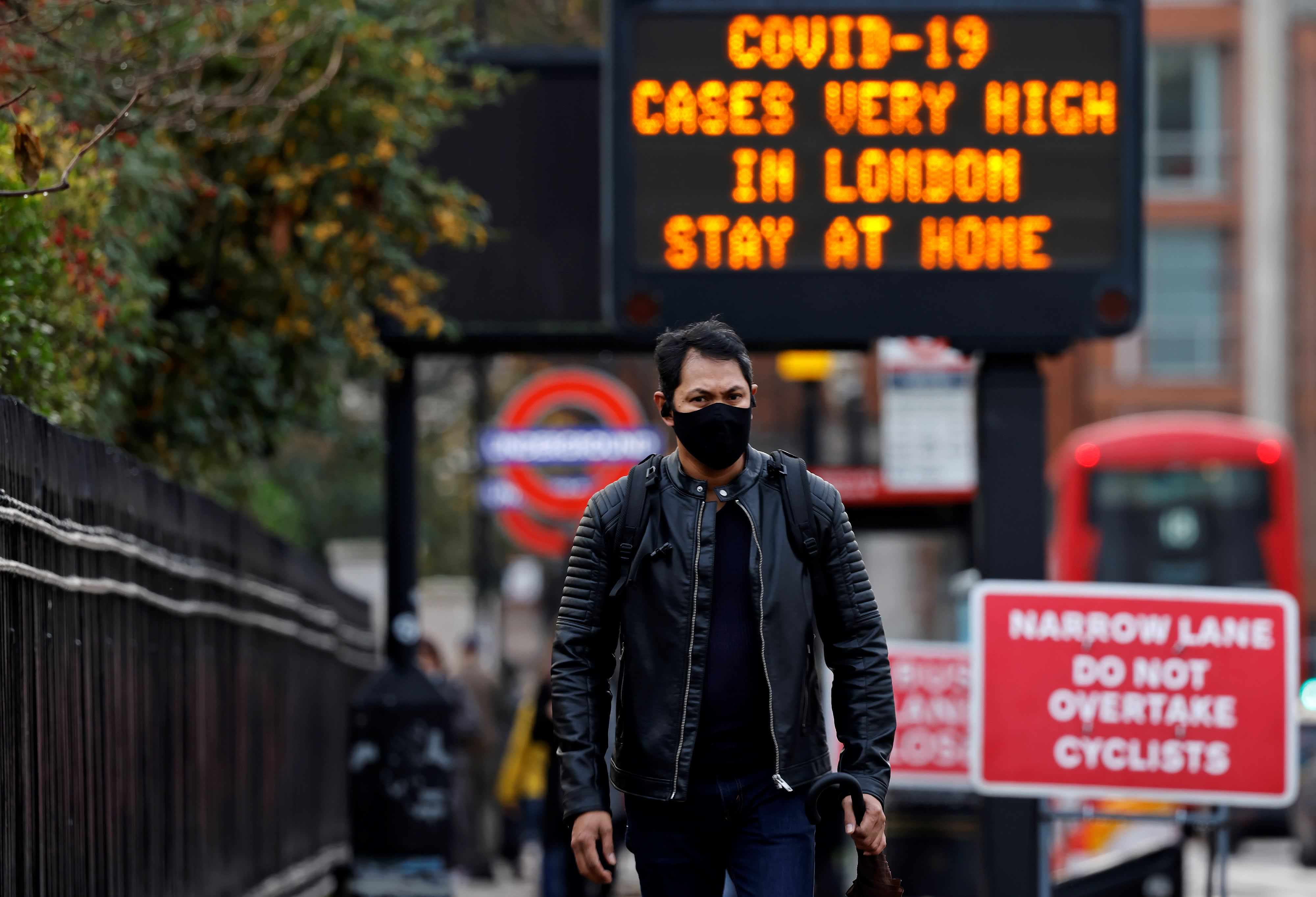 New Covid strain: Boris Johnson imposes national lockdown on England