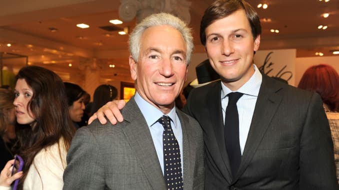 Charles Kushner and Jared Kushner attend an event at Lord & Taylor on March 28, 2012 in New York City.
