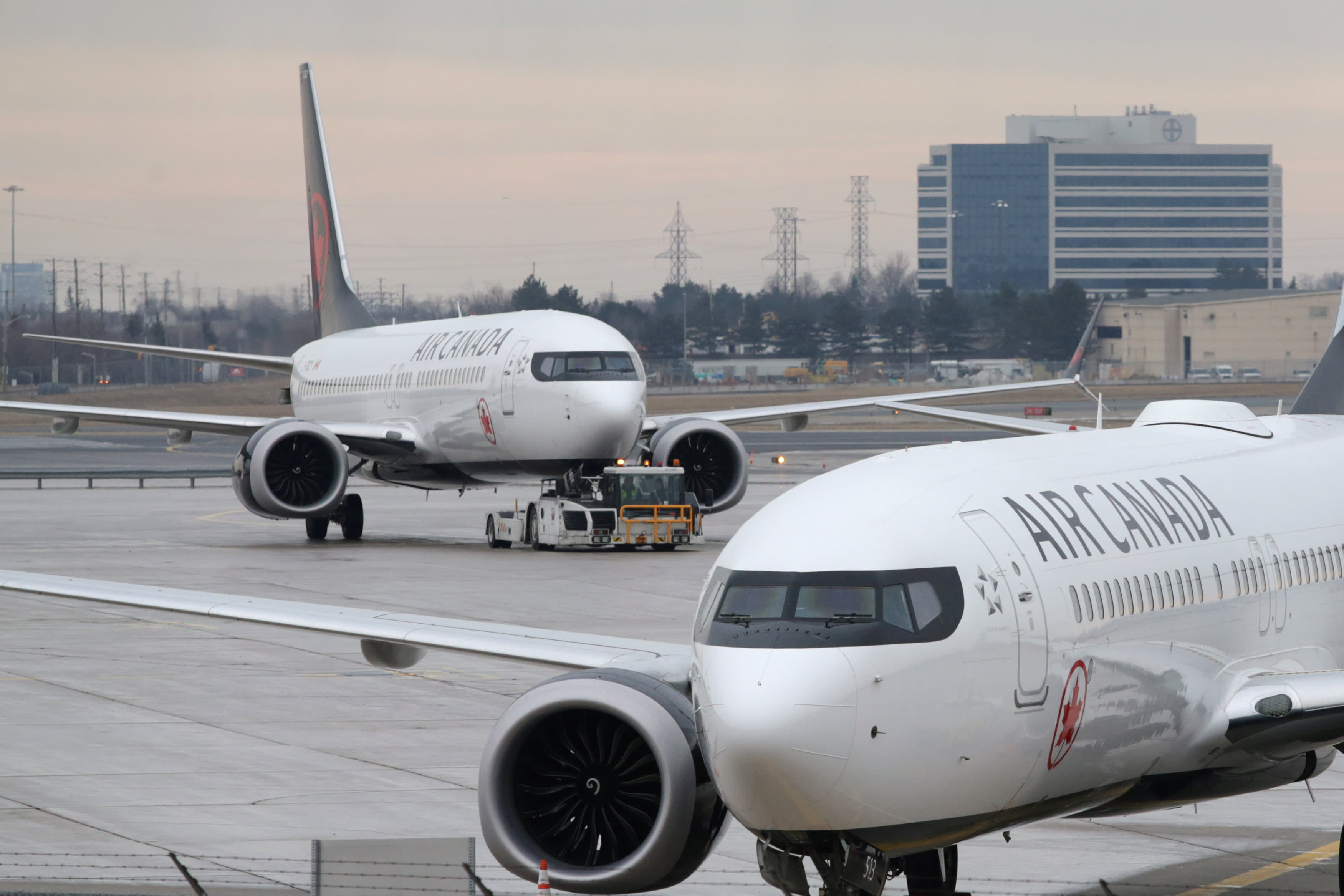 Air Canada Boeing 737 Max Ferry Flight Diverts After Engine Issue Airline company makes charter and regular passenger flights since 1937. air canada boeing 737 max ferry flight