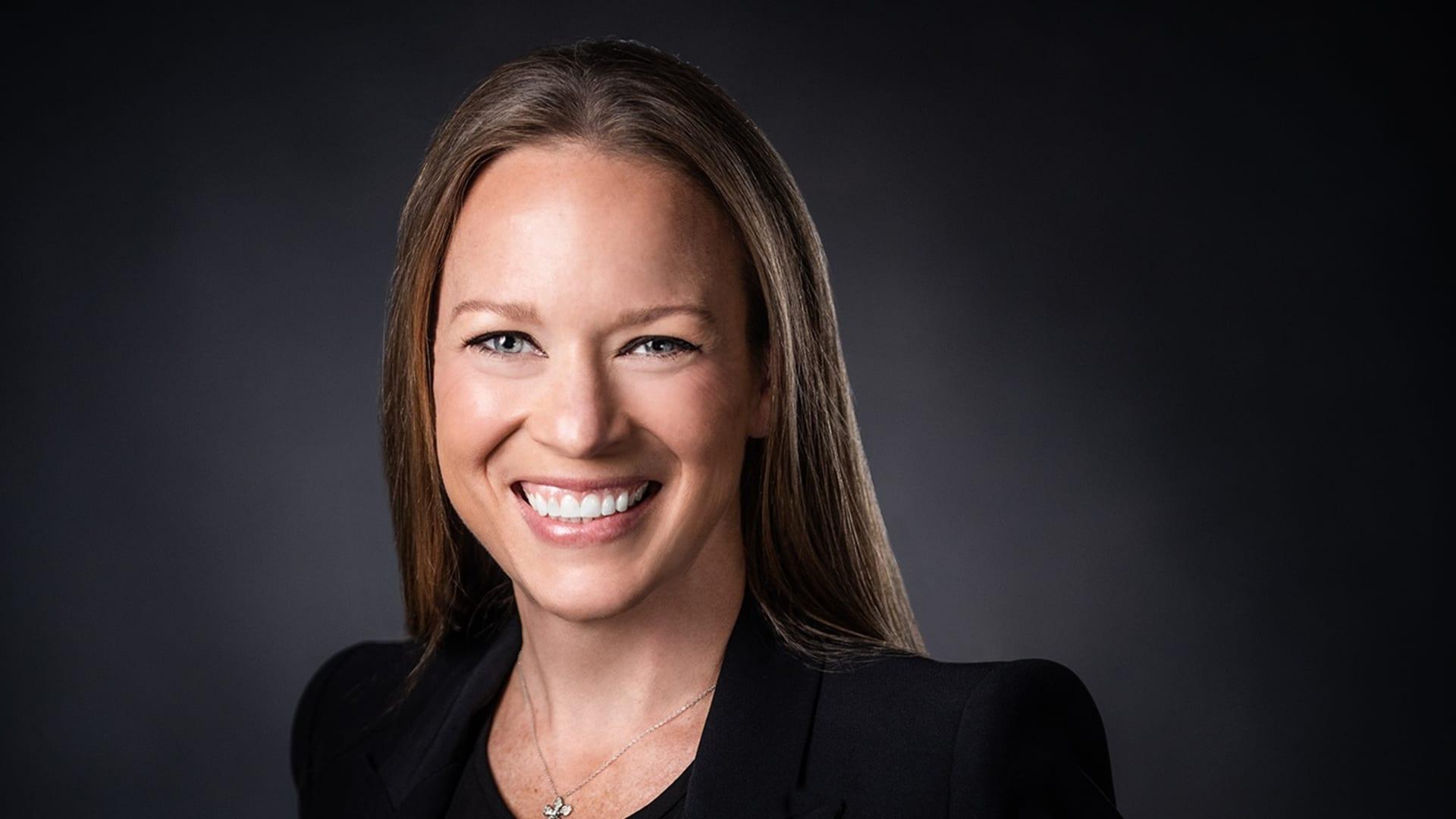 YouTube's VP of content partnerships Kelly Merryman.