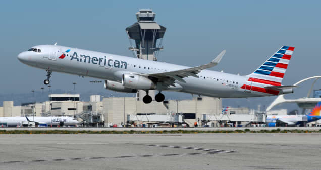 American Airlines surges 25% after better-than-expected results, squeezing short sellers