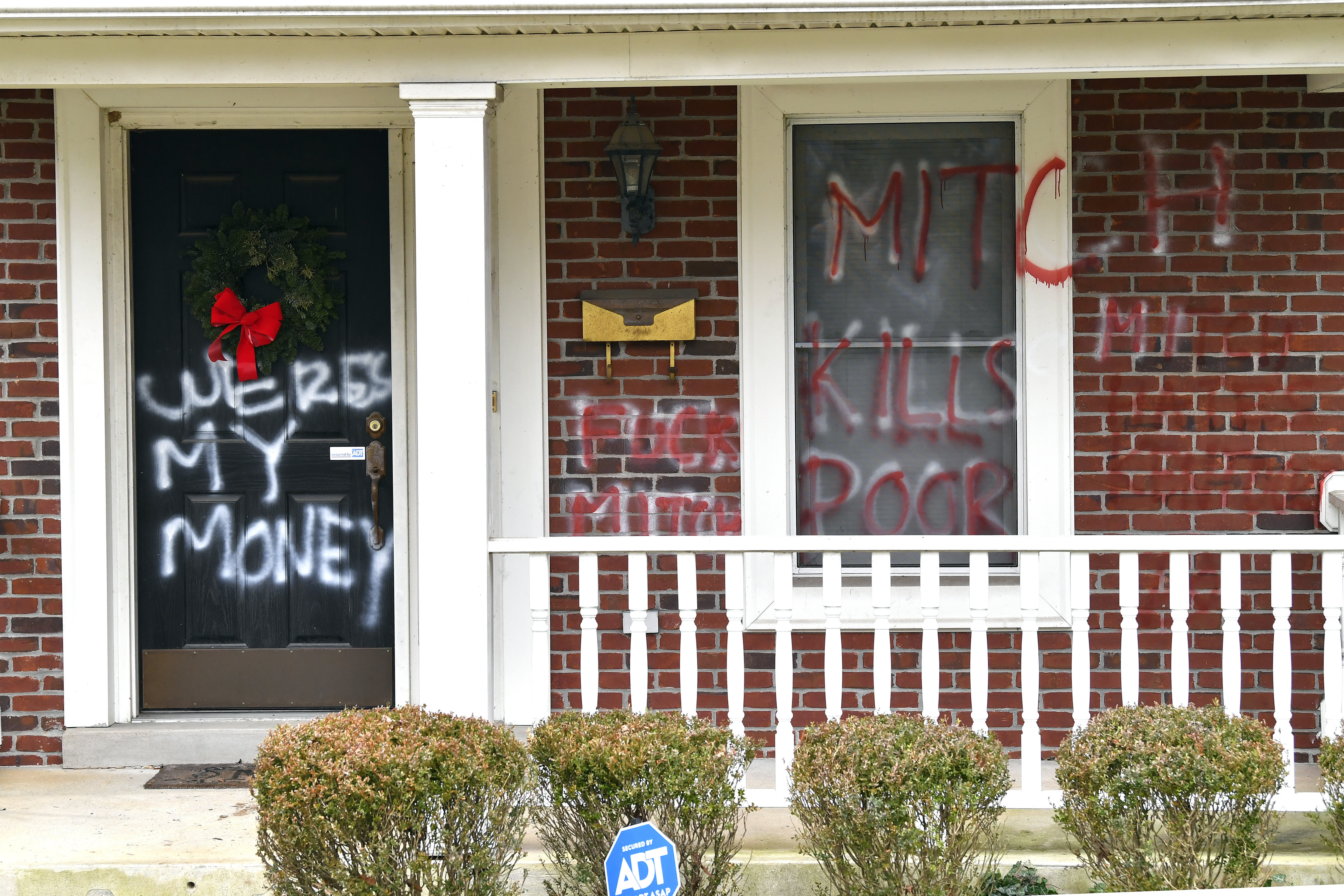 McConnell and Pelosi's homes vandalized after Congress fails to pass $2000 stimulus checks – CNBC