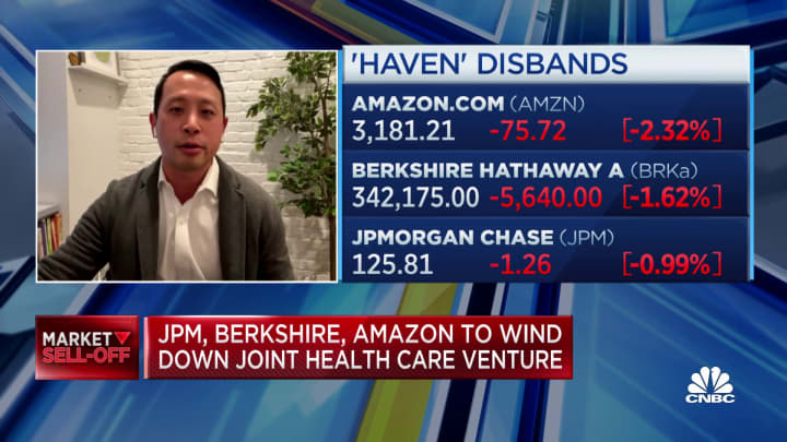Haven, the Amazon-Berkshire-JPMorgan venture to disrupt health care, is disbanding  after 3 years