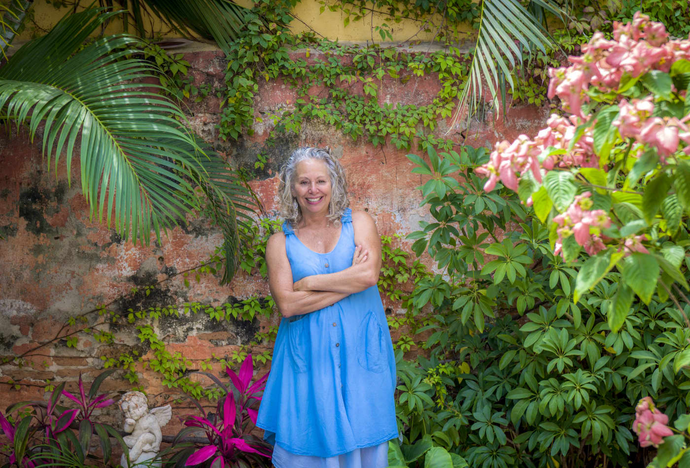 The author, Janet Blaser, in Mazatlán, Mexico.