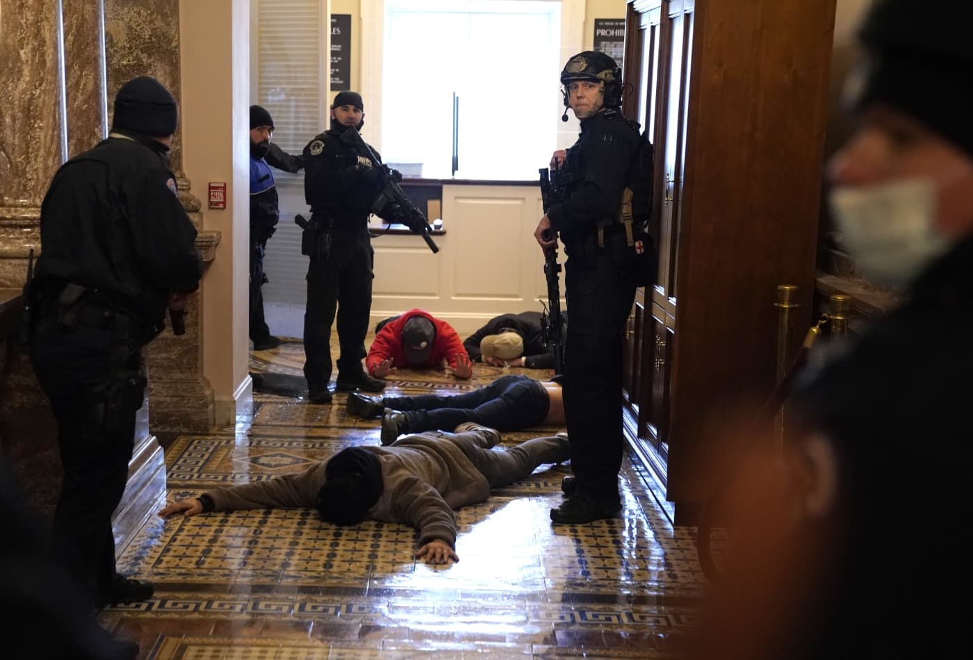 U.S. Capitol secured hours after pro-Trump rioters invade Congress