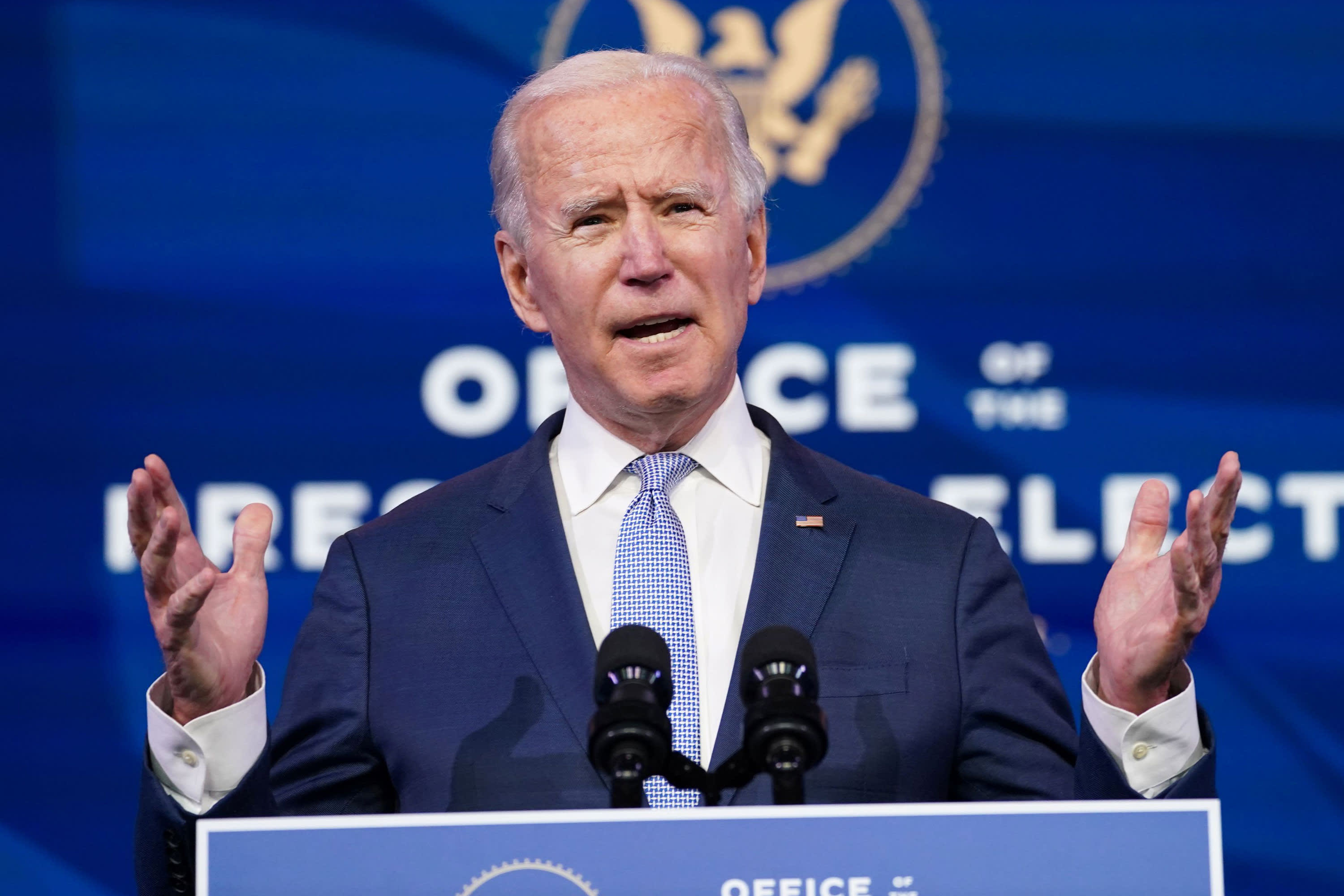 Even with majorities in Congress Biden faces a hard time getting his Covid relief bill passed – CNBC