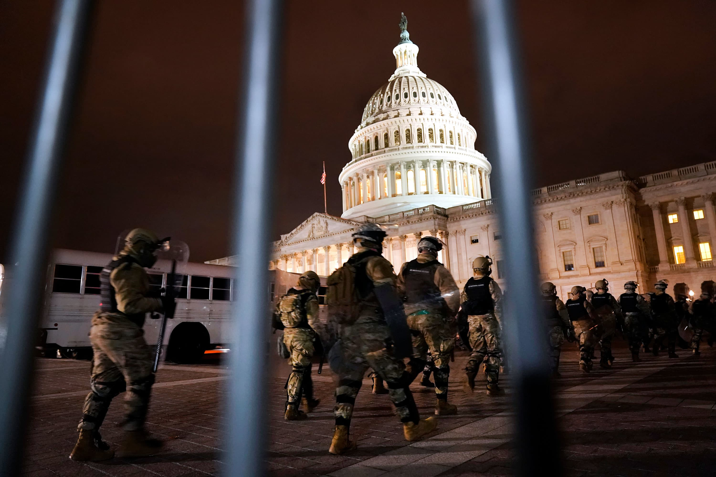 National Guard heads to Capitol after rioters overrun it