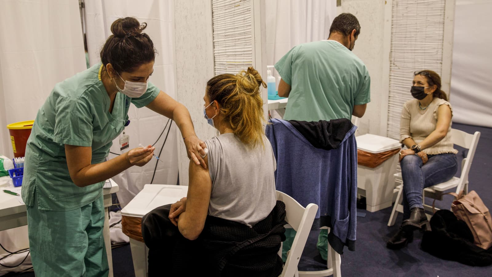 Covid Pfizer vaccine: Israel study finds 94% drop in symptomatic cases