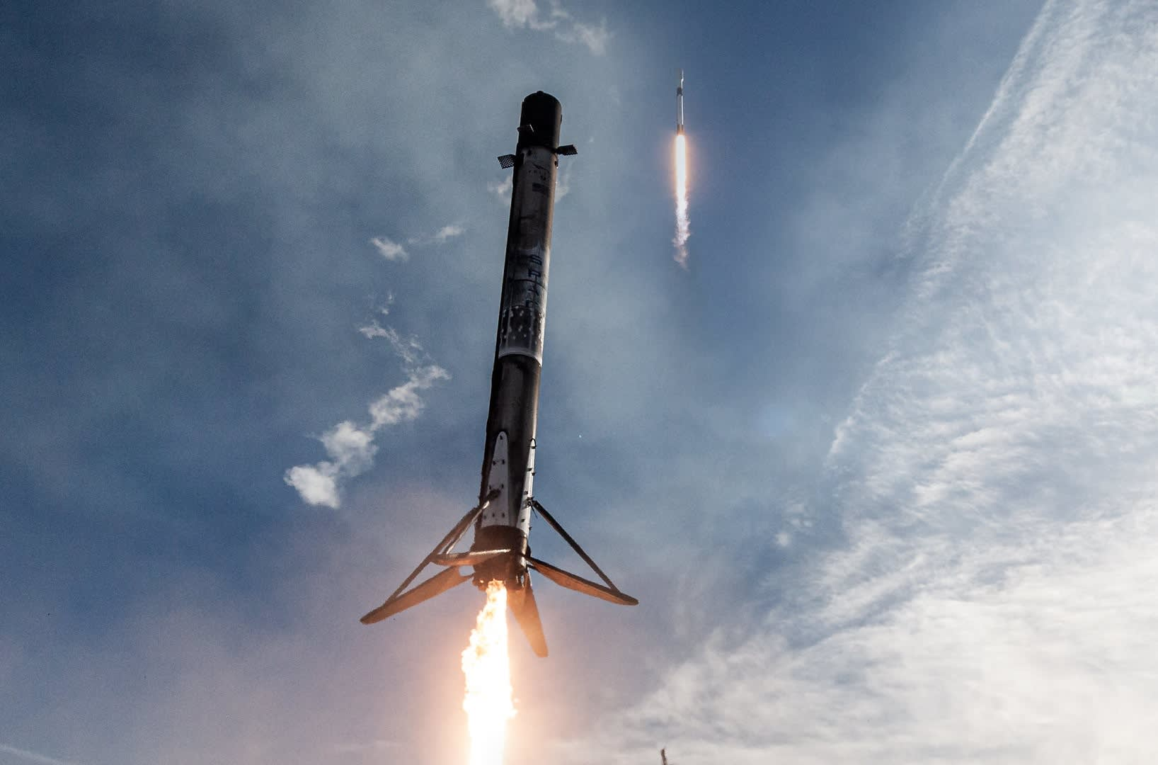 Space Force clears SpaceX to launch reused rockets for military missions - CNBC