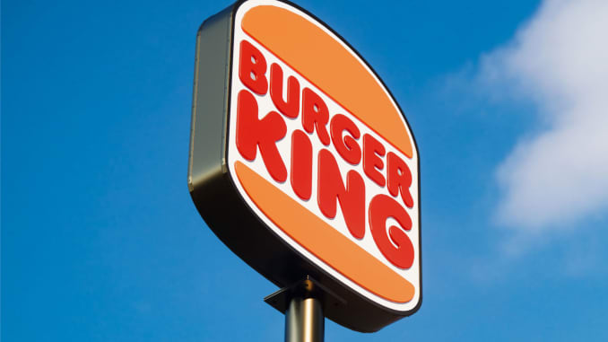 New logo of Burger King