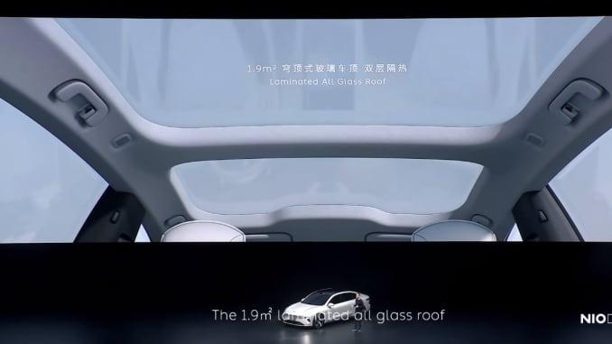 Nio đã tiết lộ chiếc sedan đầu tiên của mình, et7, vào ngày 9 tháng 1 năm 2021.