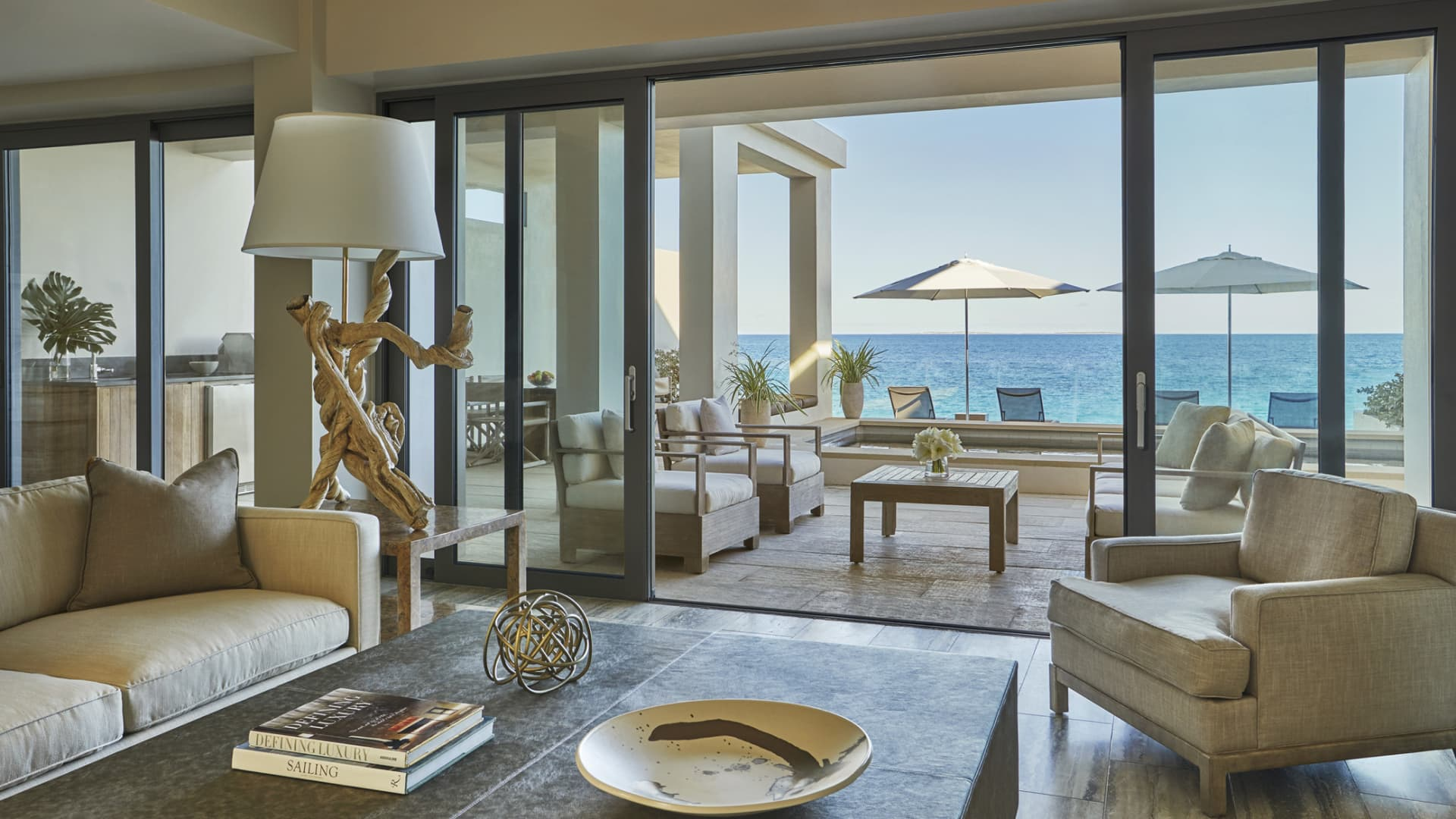 Perks are available for guests who book for 30 days or more at Four Seasons Resort and Residences Anguilla.