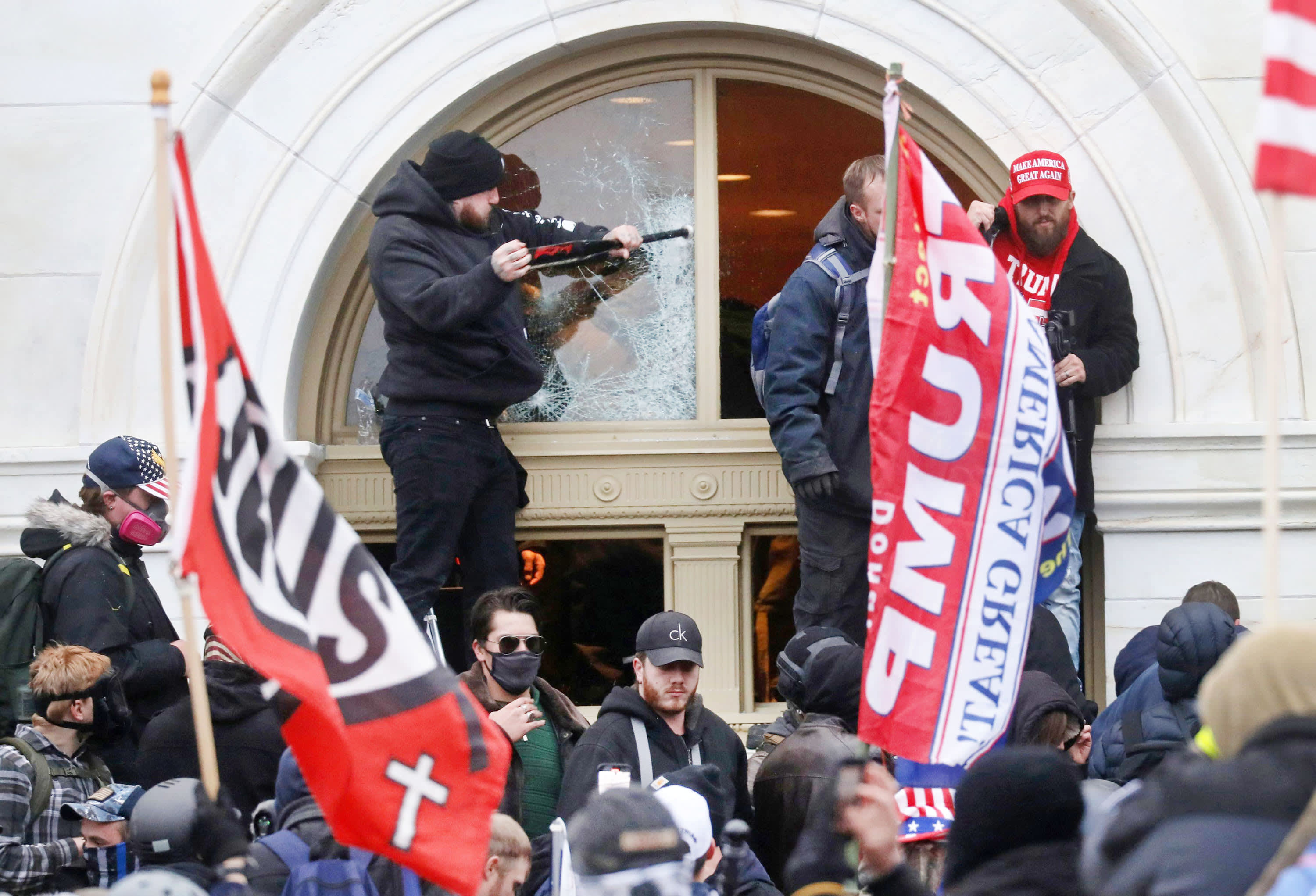 Alleged Capitol rioters are still being arrested four months after the insurrection