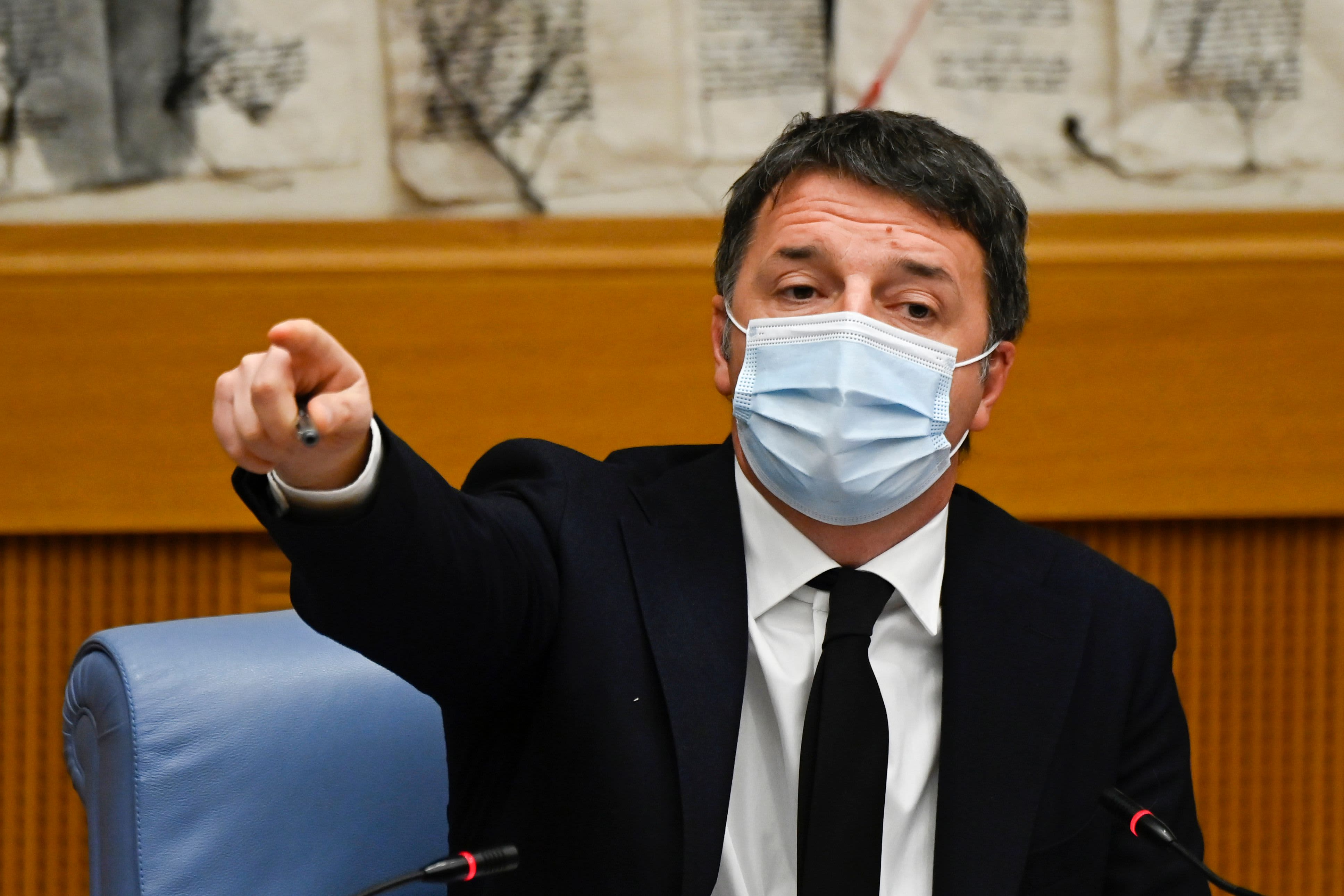 Renzi: Italy's government in crisis after former PM pulls support