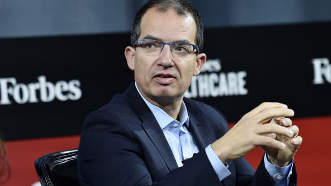 Moderna CEO Stephane Bancel